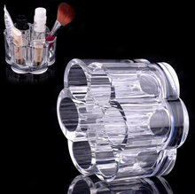 1pcs Acrylic Clear Makeup Cosmetic Organizer Storage Lipstick Holder Case Stand Tool Holder -39(China)