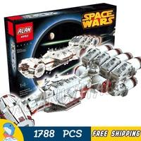1788 шт. Space Wars окончательный коллектор tantive IV Rebel блокады Runner 05046 модель строительные блоки игрушка игра совместима с Lego