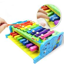 Mooistar2 #4005  Retail Child Kid Baby Wooden Musical Toys Instruments Intelligence Toys