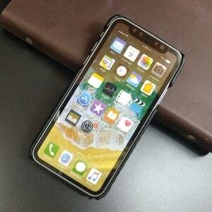 Image 5 - حافظة جلدية أصلية من Solque لهاتف iPhone X XS Max XR ، حافظة جلدية فاخرة على شكل جمجمة ، غطاء صلب رقيق لهاتف iPhone 7 8 6 Plus SE 5s 5
