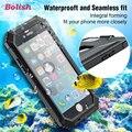 Bolish marca estojo protetor caso robusto à prova de poeira ip68 à prova d' água à prova de choque para apple iphone 6 6 s 4.7 polegada