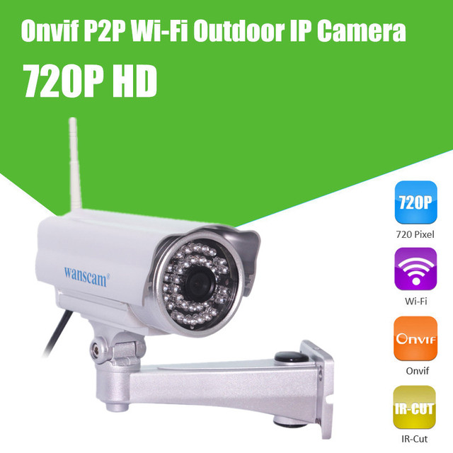 1MP IP camera outdoor 1280*720 high resolution onvif cctv bullet ip camera waterproof