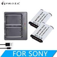 PALO NP-BX1 battery Pack NP BX1 NPBX1+Dual bateria charger For Sony NP-BX1 HDR-AS200v AS15 AS100V DSC-RX100 X1000V WX350 RX1