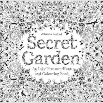 Secret Garden An Inky Treasure Hunt And Coloring Book Pencil Drawing