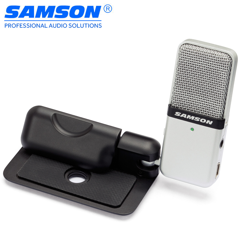 Samson Go Mic Portable USB Condenser Microphone Plug and Play Compatible with a Mac or PC