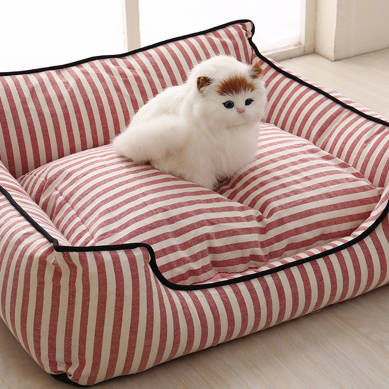 Jormel Paw Pet Sofa Dog Beds Waterproof Bottom Soft Fleece Warm Cat Bed House Petshop cama perro Pet Bed Cat House in Houses Kennels Pens from Home Garden