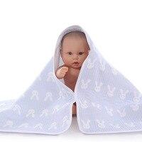 2016 Novo Puro Algodão Gaze Toalhas de Banho Infantil Toalha de Banho Do Bebê Infantil Babygirls Babyboy Roupão Cobertor Macio Healthly