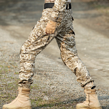 Airsoft Camouflage Cargo Tactical Pants With Knee Pads