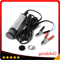 A 12V DC Diesel Water Oil Fuel Transfer Pump Car Truck Camping Submersible Transfer Pump Professional