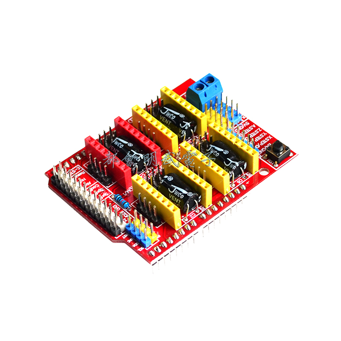 New Product CNC Shield V3 Engraving Machine Expansion Board 3D Printer A4988 Driver Board Pakistan