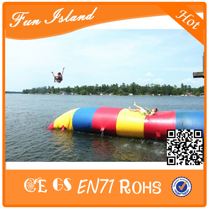 Free Shipping 8x3m Selling Inflatable Jumping Blob,Inflatable Water Blob,Bouncing Bag blob blob big yellow