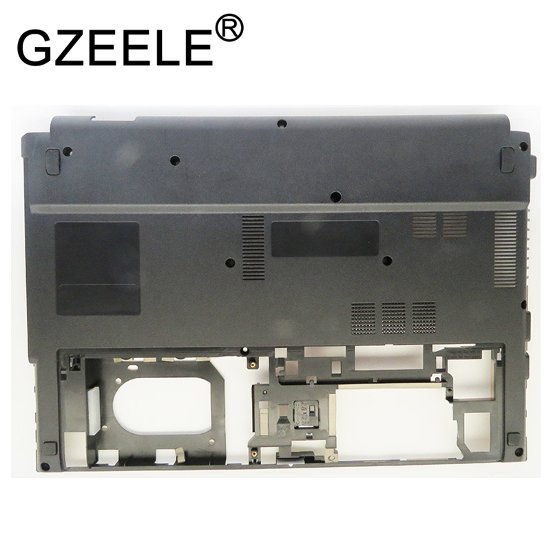 GZEELE used Laptop Bottom Base Case Cover For ACER 4830 4830 T <font><b>4830TG</b></font> lower case black image