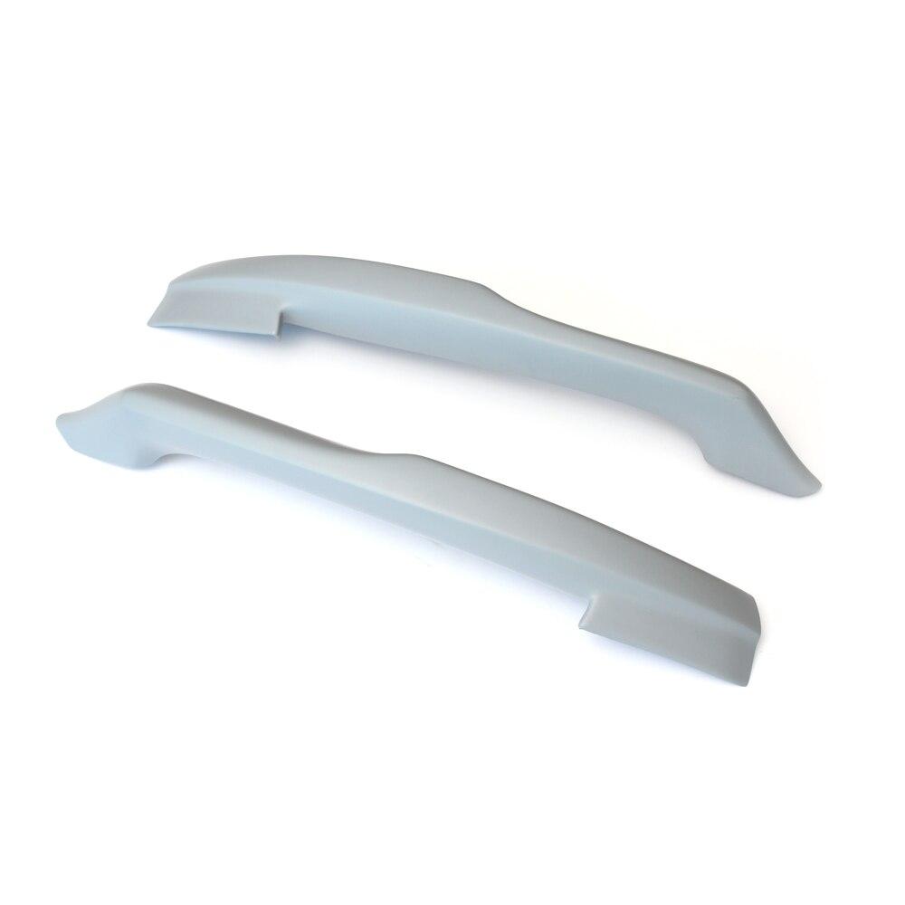 Car Style FRP front splitter front bumper spoiler lip Flags for Audi A4 B8 standard bumper 2009-2012
