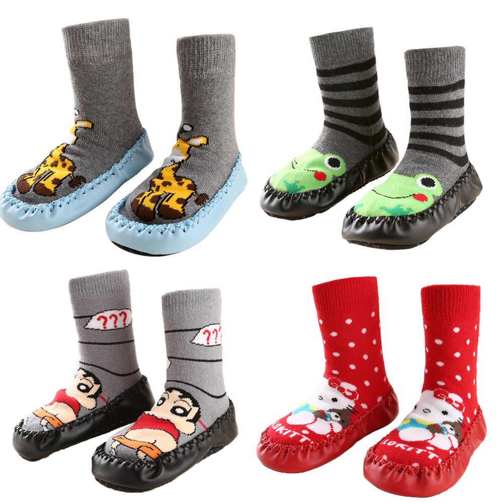 Winter Baby Boy Girl Children Socks Anti Slip Newborn ...