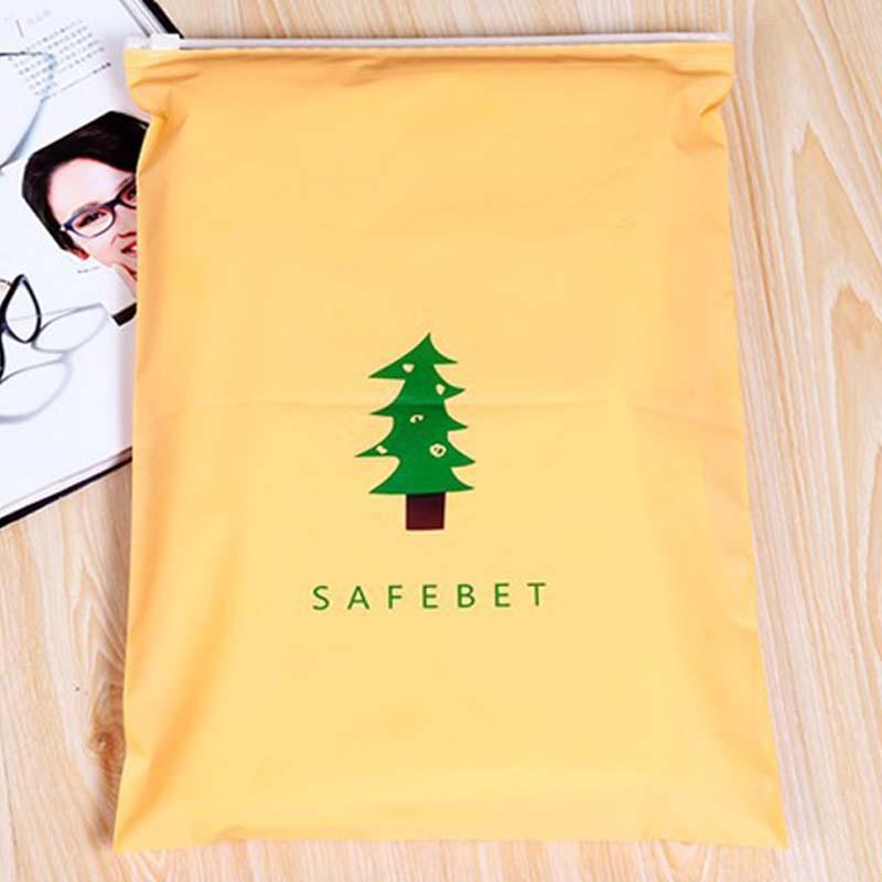 Sale 1PC Cute cartoon brigle pull-edge bag file items Storage bundled brim waterproof zipper bag