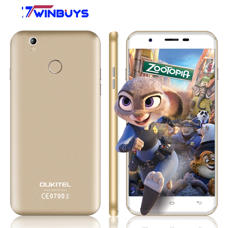 "bilder für Oukitel U7 plus Smartphone 5,5 ""MTK6737 1,3G Android 6.0 Quad Core 2 GB RAM 16 GB ROM 13MP 2500 mAh fingerabdruck 4G LTE Mobilen telefon"