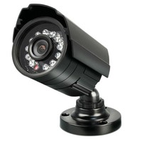สีดำราคาถูกCMOS 1000TVLโลหะกันน้ำกล้องวงจรปิดกล้องเฝ้าระวังกระสุนระบบใช้ภายในภายนอก