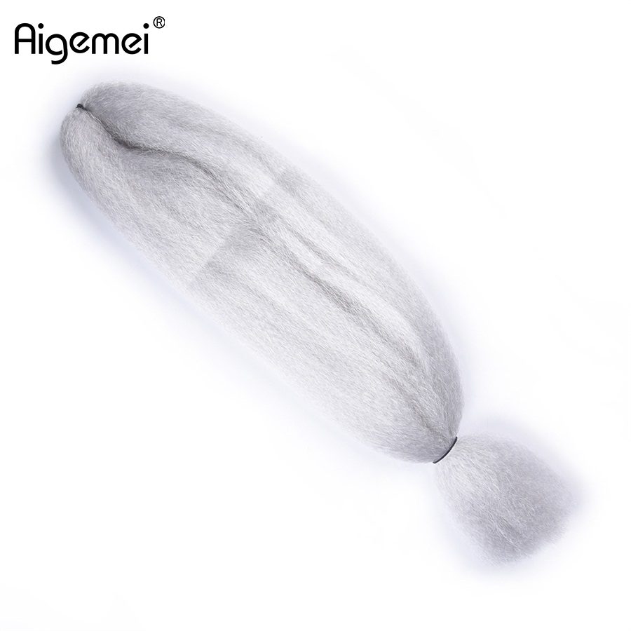 Jumbo Braids Hair Extensions & Wigs Enthusiastic Aigemei Hair Kanekalon Synthetic Braiding Hair Extensions 57g 48inch Crochet Hair Extension Jumbo Braids As Effectively As A Fairy Does