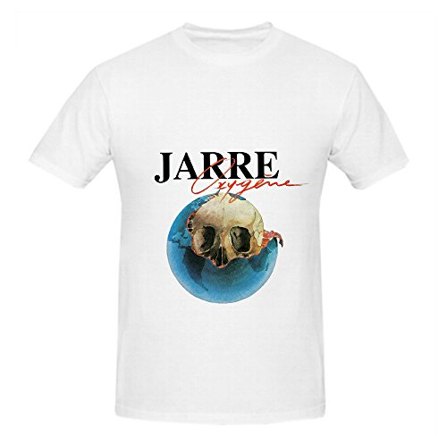 Jean Michel Jarre Oxygne Jazz Mens O Neck Casual Shirt