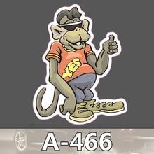 A-466 Orang-utan Gibbons Wasserdicht Mode Kühle DIY Aufkleber Für Laptop Gepäck Skateboard Kühlschrank Auto Graffiti Cartoon Aufkleber