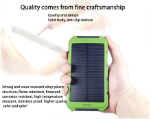 solar power bank dual usb 8000mah poverbank batery externa for xiaomi universal phone charger