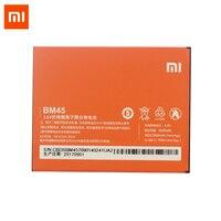 Original Xiaomi Redmi Note 2 Cellphone Battery BM45 3020mAh High Capacity Batteria 3 7V Lithium Polymer