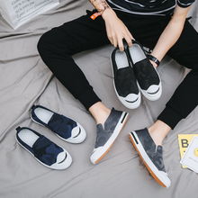 Canvas Shoes Men Breathable Casual Shoes Men Shoes Loafers Soft Comfortable Outdoor Flat Lazy Shoes for Male Chaussure Homme new canvas shoes man loafers flats espadrilles slip on shoes men casual breathable soft comfortable lazy shoes chaussure homme