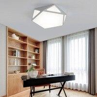 Lamparas de techo Meninos Quarto Iluminação Lâmpadas Quarto Luzes de Teto Luminárias LED Acylic Ferro Lâmpadas de Teto Sala de estar