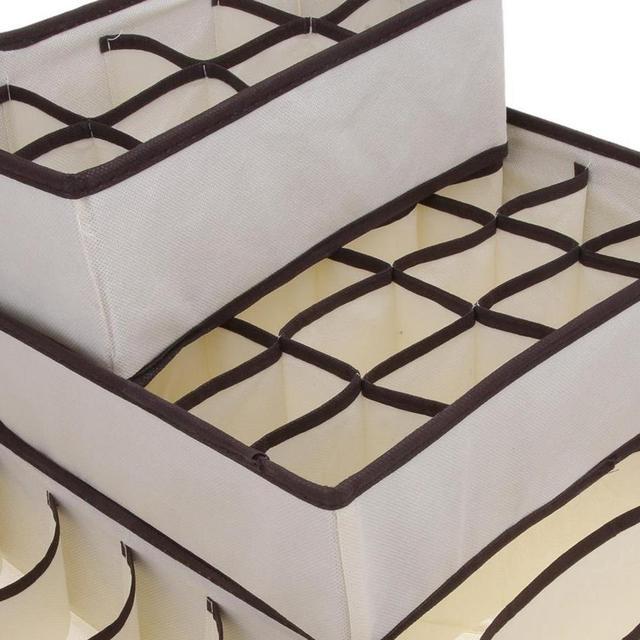 4 ШТ. Набор Складной Обувь Коробка Под Кроватью Шкаф Для Хранения Организатор Дело Держатель Складной