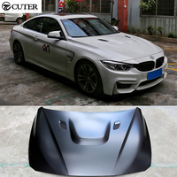 F30 F35 F32 M3 M4 Style FRP Primer engine hood bonnet hoods for BMW F30 F35 F32 M style 2014UP