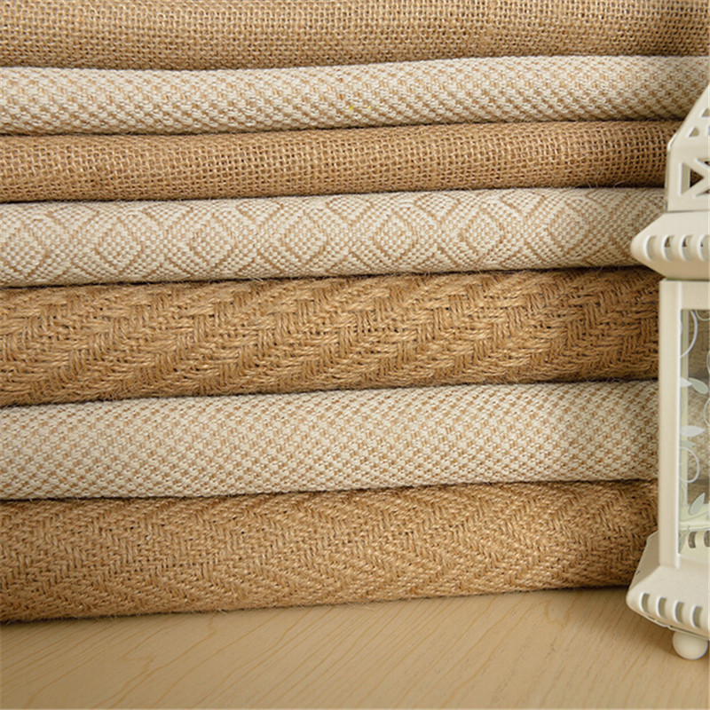 Good Quality 1MeterX 160cm Width Jute Table Runner Burlap Fabric For Burlap  Chair Sashes Burlap Ribbon Hessian DIY Supply In Lace From Home U0026 Garden On  ...
