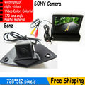 Car Front Logo Camera + 4.3monitor For sony Mercedes Benz SLK350 200 CLS350 CLS300 Viano R500L R350L R350 R300L Sprinter etc.