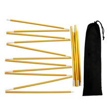 Equipment Repair Outdoor Camping Aluminium Alloy Universal Adjustable Support Rod Replacement Tent Poles Kit Accessories Hiking
