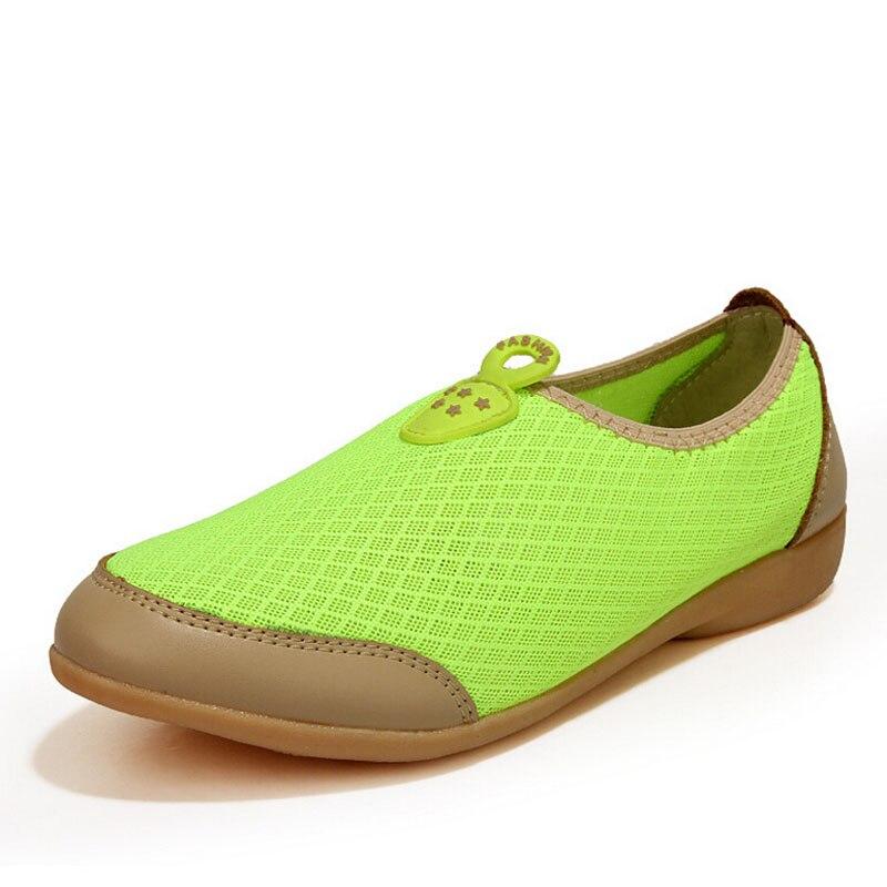 green orange Glissement Mesh Plat Mode white Air Femmes Casual Femme P5d52 Pour Confortable Sur Léger Sandales La Super Chaussures Pink Respirant 7qRCUcW8w8