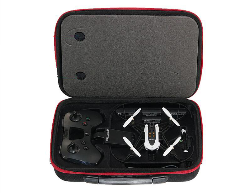 Minidrone Mambo Storage Bag Carry Box Waterproof Case Hardshell Bag for Parrot Minidrone Mambo and Flypad Remote Controller Shou spark storage bag portable carrying case storage box for spark drone accessories can put remote control battery and other parts