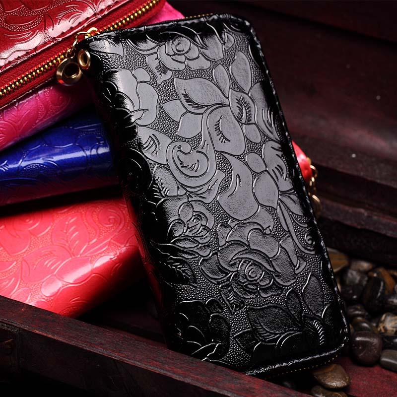 projeto de longo zipper carteira Estilo 2 : Women Wallet / Women Purse / Women Clutches