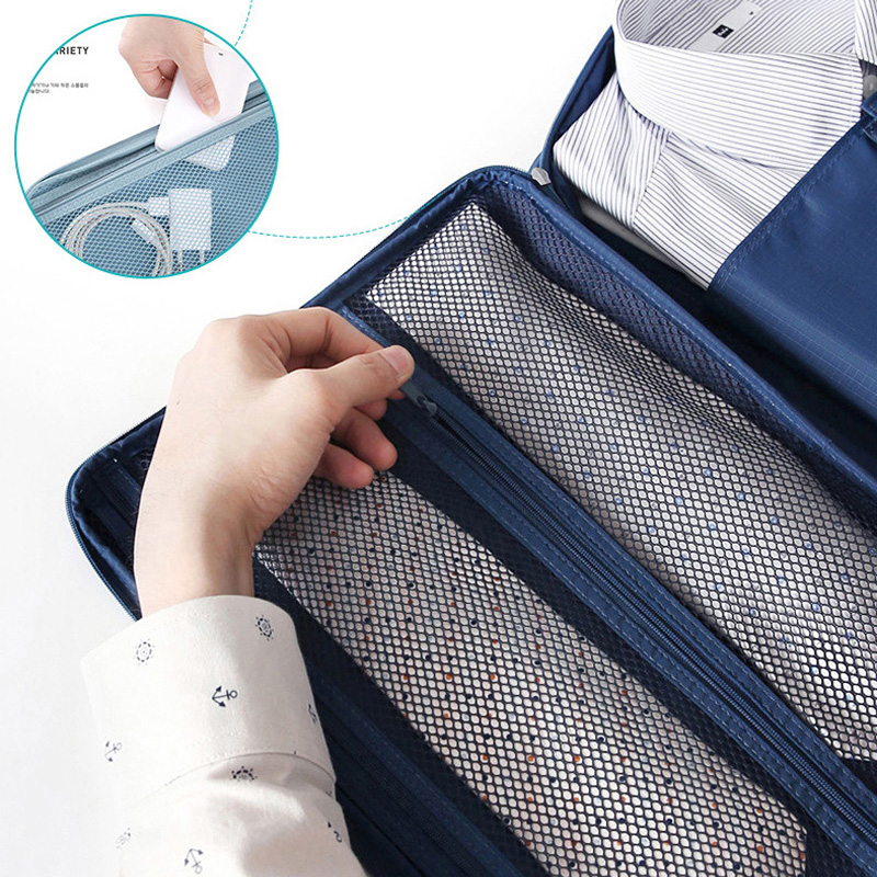 Outdoor Shirt And Tie Bag For Business Trip, Portable Multifunctional Collection Bag, Shirt And Clothes Collection Bag
