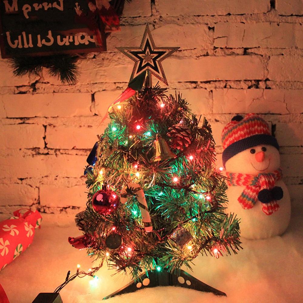 Decorador de arboles de navidad 187 home design 2017 - Adornos De Navidad De Madera Artificial Pvc Conjunto De Navidad Decoraci N Del Rbol De Navidad Luces