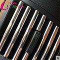 100cm Car Interior Air Conditioner Outlet Vent Strip Trim For Peugeot 206 207 208 307 308 408 508 2008 3008 Citroen C2 C3 C4 C5