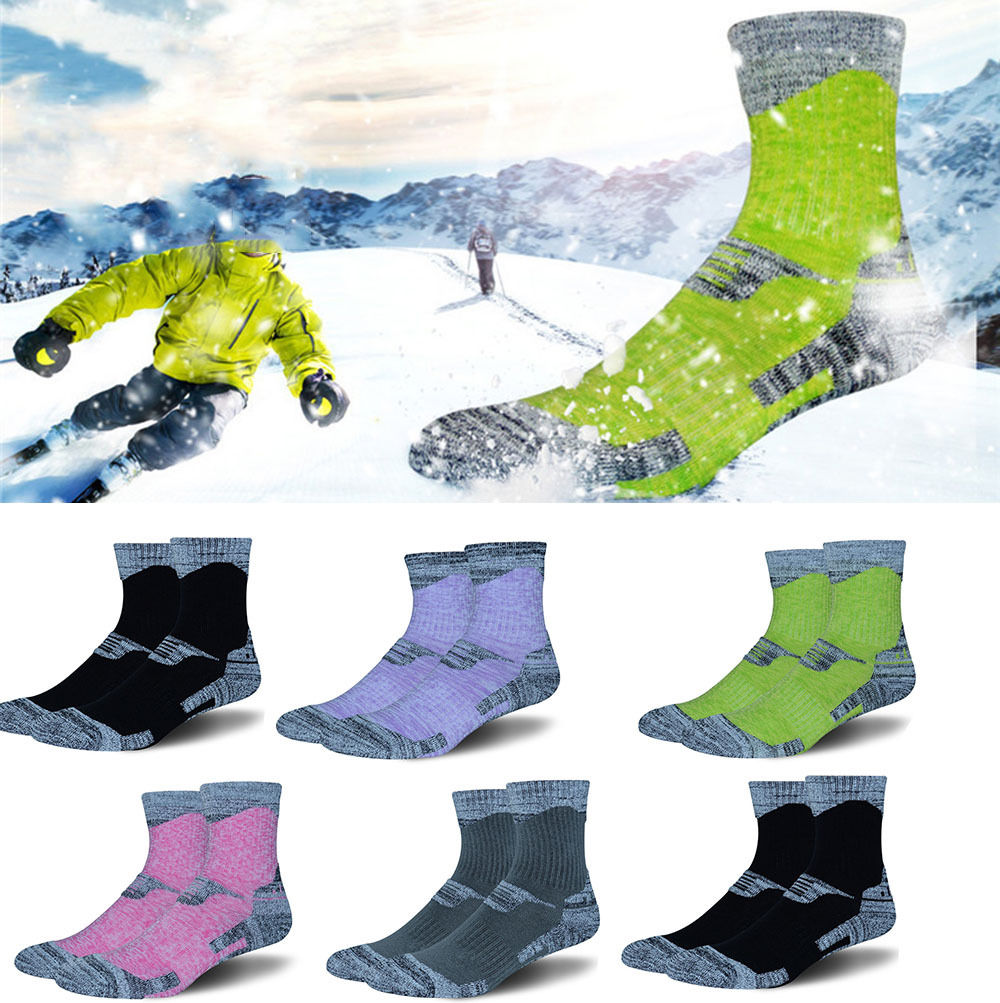 Mens&Women Outdoor Sports Warm Socks Riding Hiking Snow Thick Socks