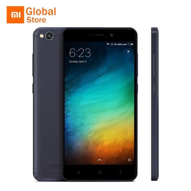 """Глобальный Встроенная память оригинальный Xiaomi Redmi 4A 4 2 ГБ 16 ГБ Встроенная память мобильного телефона 5.0 """"4 г LTE snapdragon 425 4 ядра смартфон 3120 мАч 13MP"""