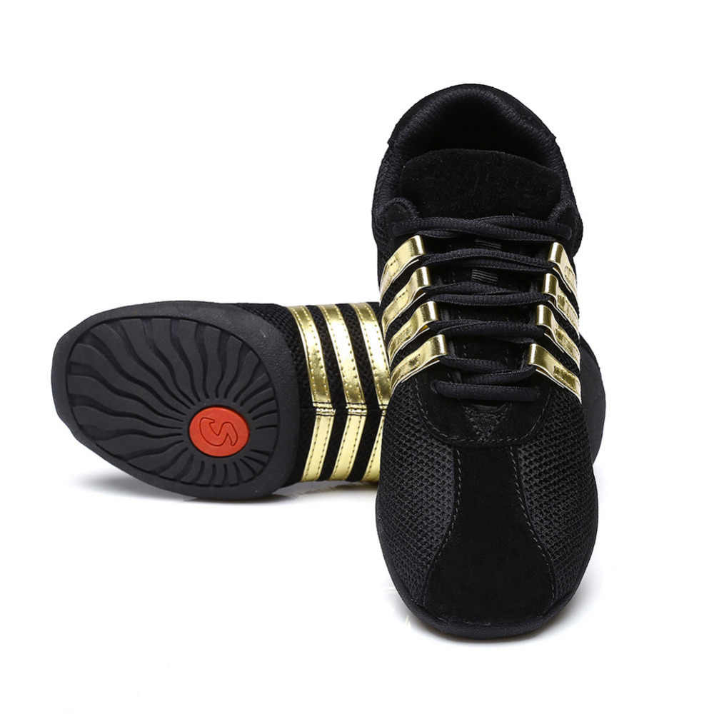 High quality Women Soft Outsole Breath Girls Practice Shoes sport dance shoes Modern Jazz Sneakers Wholesales Dropshopping