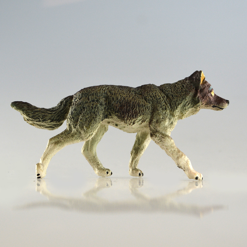 Starz Animals Toys Wolf Action Figures Static PVC Model Early Education Toys for Collection and Kids Gifts ZAPUYO Brand starz appaloosa horse model pvc action figures animals world collection toys gift for kids