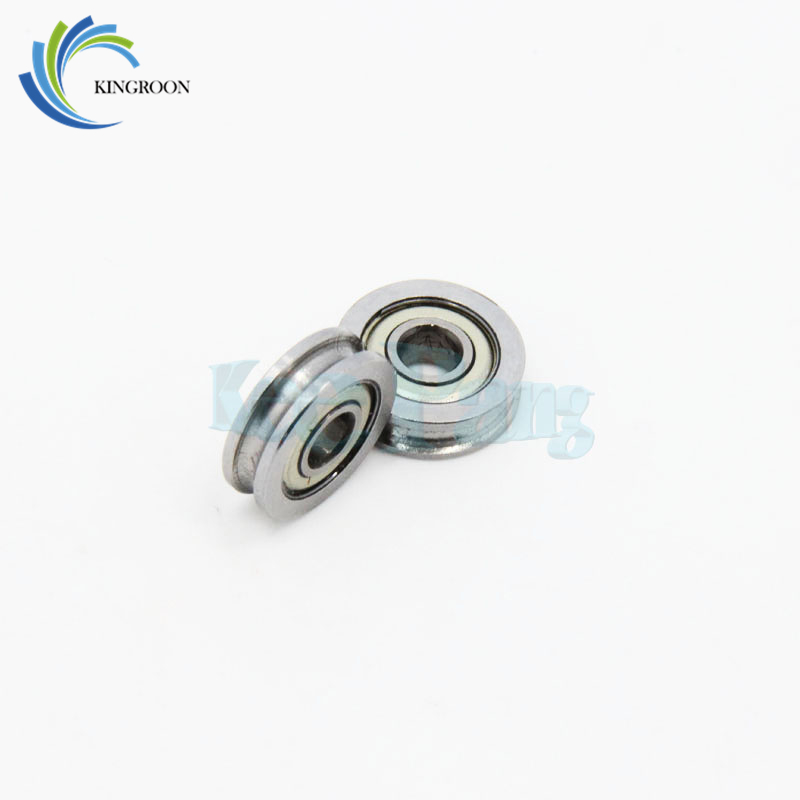 U-groove Guide Wheel For 3D Printer Extruder Size 4*13*4mm