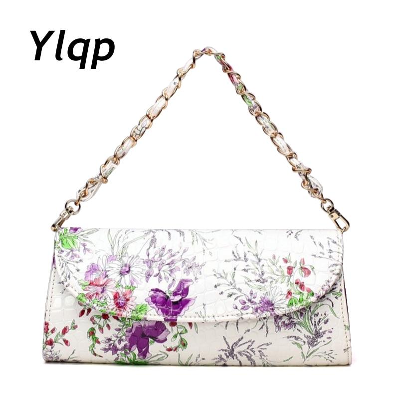 2018 Casual women leather handbag clutch bags fashion women bags chain women shoulder bag women evening bag purse designer bolsa