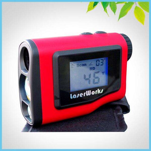 600m External LCD Display Golf Rangefinder Laser Range Finder w/ Pinseeker Laser Distance Meter Waterproof optical instruments berent bt4004 lcd laser rangefinder meter