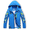 Winter Boys Girls Jackets Kids Hooded Coats Thick & Thin 4-12Y Children's Active Outwear Double-deck Waterproof Windproof SC591