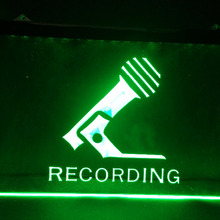 Micrófono de grabación en el aire nuevo Bar de cerveza Pub bar cerveza Bar pub club led noen letrero luminoso vintage decoración del hogar