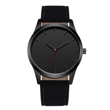 Reloj 2018 Fashion Large Dial Military Quartz Men Watch Leather Sport watches High Quality Clock Wristwatch Relogio Masculino T3(China)