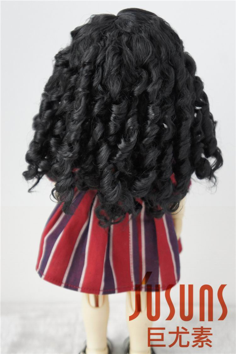 JD073 1/12 1/8 1/6 Long curly classic BJD wigs 3-4inch 5-6inch 6-7inch Middle part line Synthetic mohair hair doll accessories
